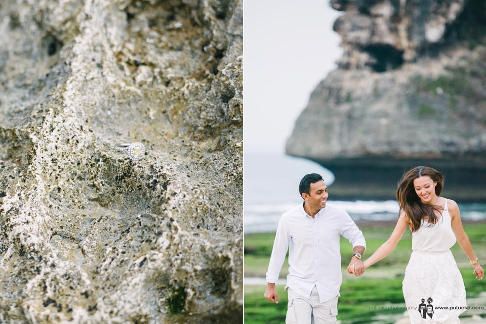 I want be the last man to put ring in your hand and makes your smile last forever in our engagement shoot in Bali