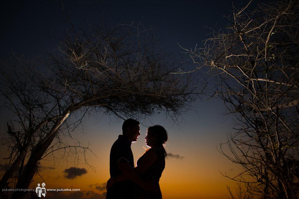 Sunset pre wedding of Ditya and Chitto