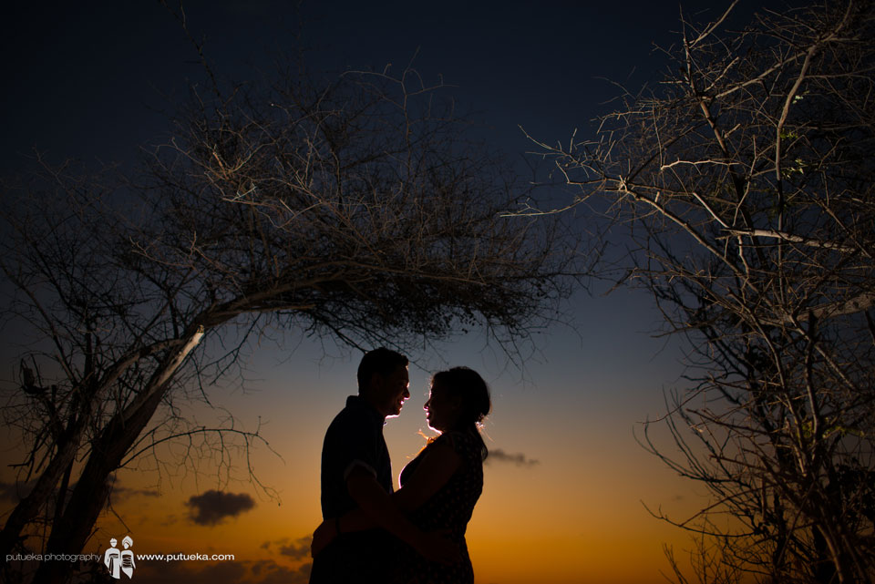 Sunset pre wedding of Ditya and Chitto