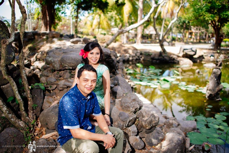 Pond pre wedding photo session