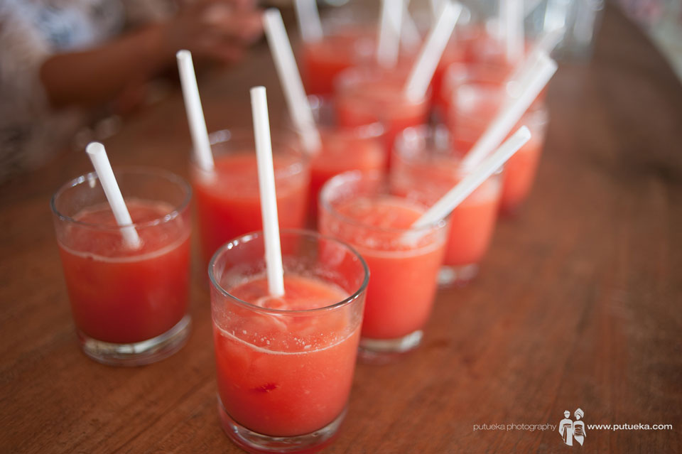 Fresh juices to cool off the big day