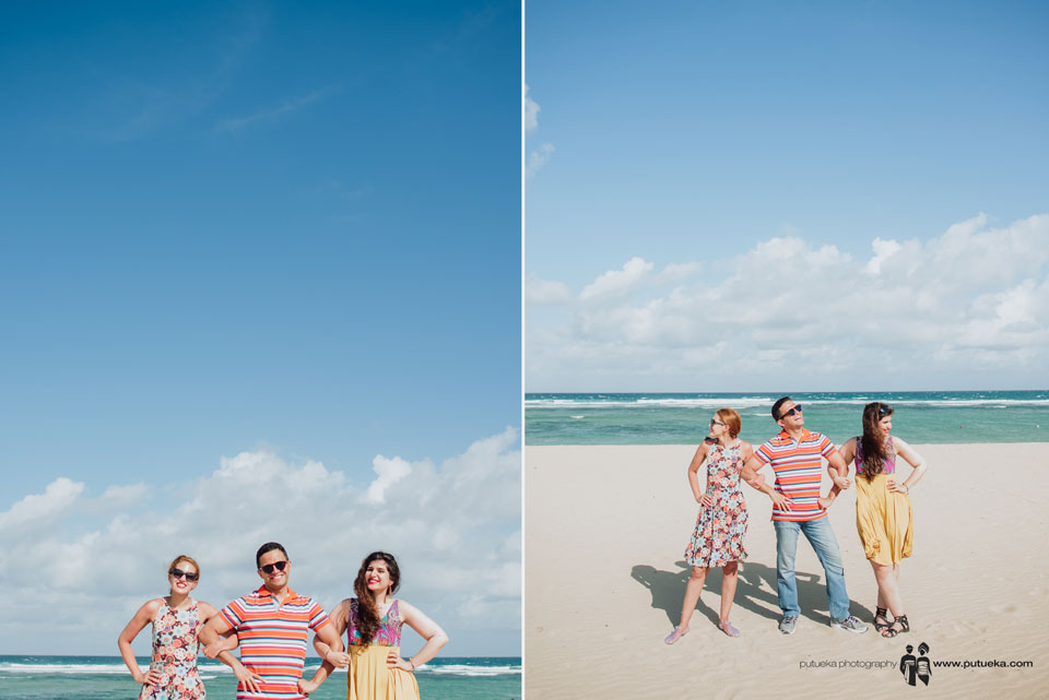 Family photography session at nusa dua beach