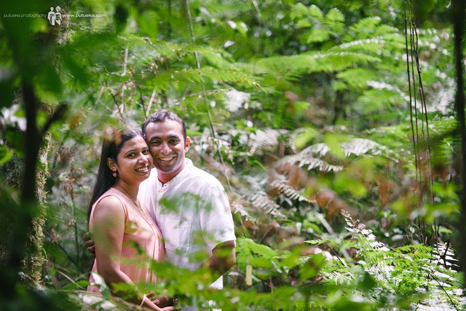 Inside the bush of Botanical Garden