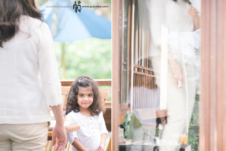 Ready for family photo session at Kamandalu resort