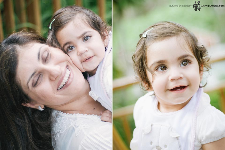 Adorable daughter and mom from Obaid Family