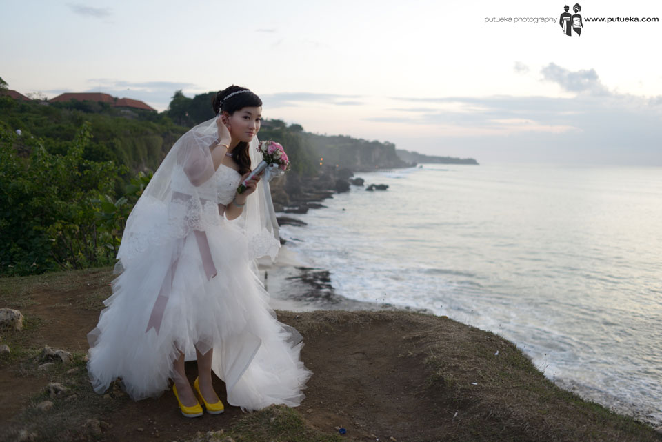 Sunset pre wedding session with Ivy and Rambo