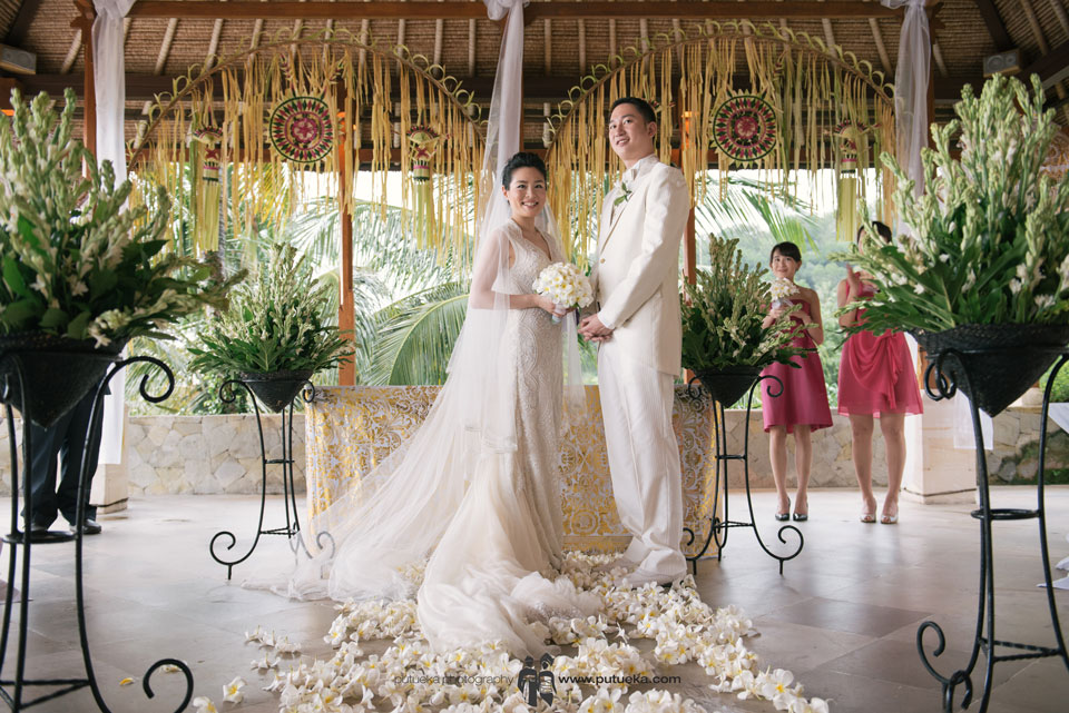 Ready to start the wedding ceremony