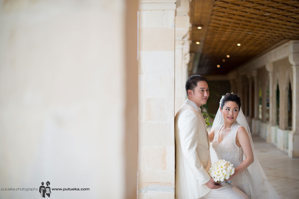 After wedding photo session to share to their grandchild
