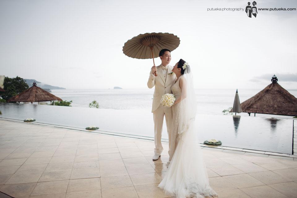 Bali wedding photography of Jessie and Boris at Amankila