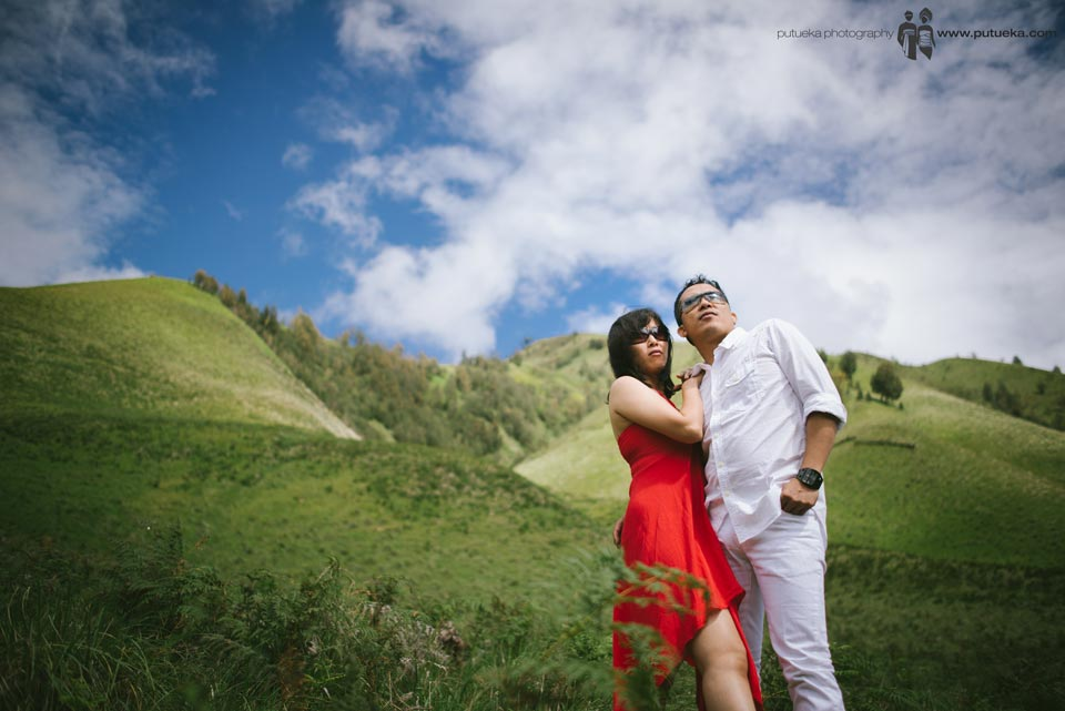 Teletubbies hil prewedding session with Tomy and ANita
