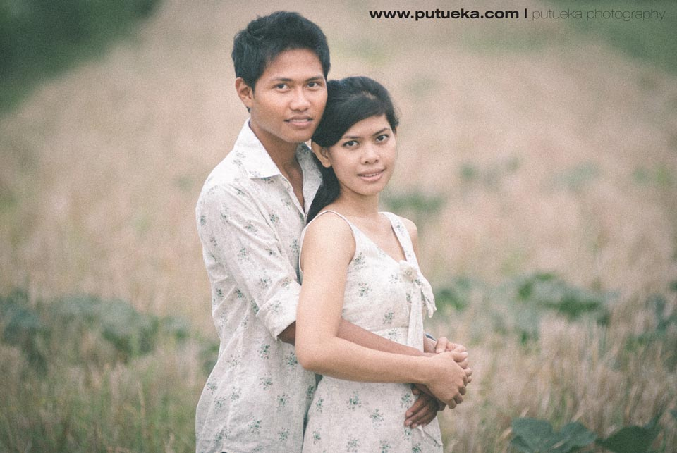 Gorgeous couple for Bali engagement session