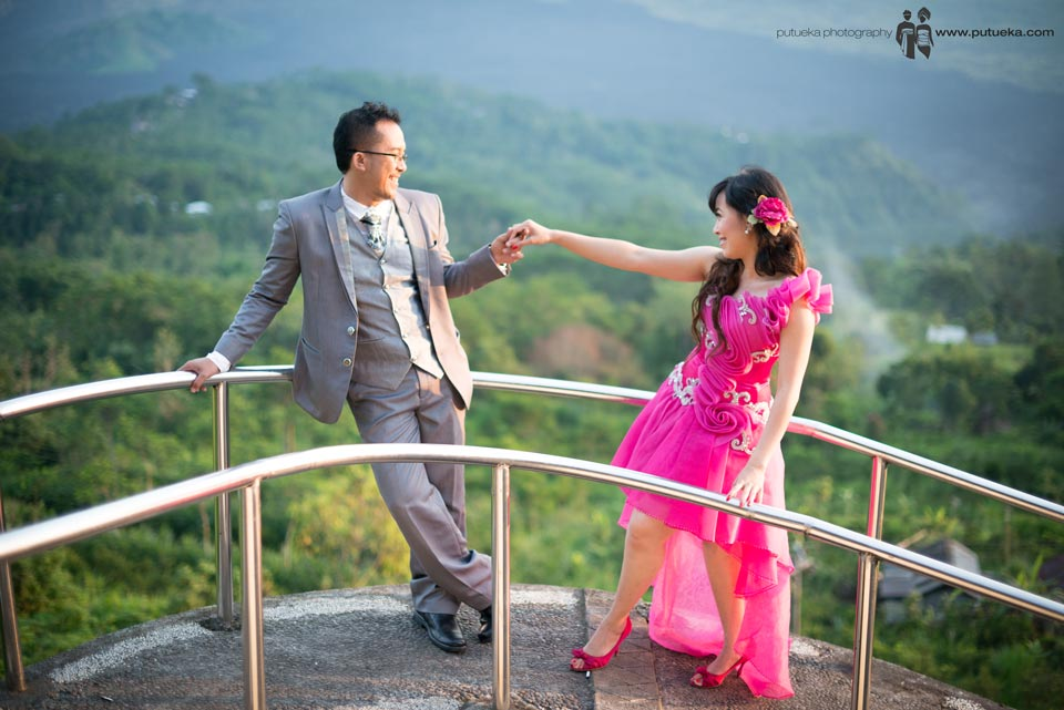 Romantic pre wedding session in Kintamani Bali