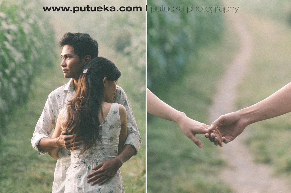 Bali engagement photography of Prima and Sila