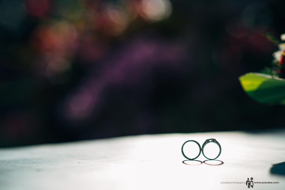 Ayu and Hakim wedding rings