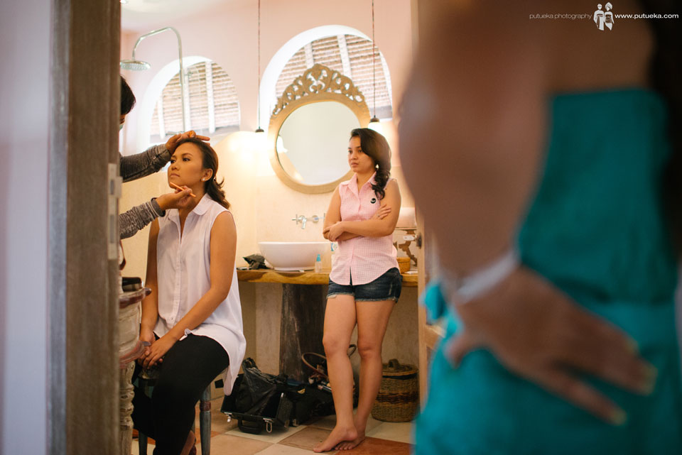 Makeup session for Ayu