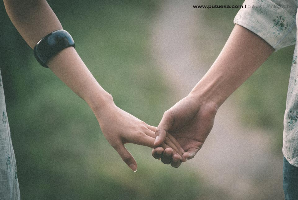 Holding hand together until the end of time