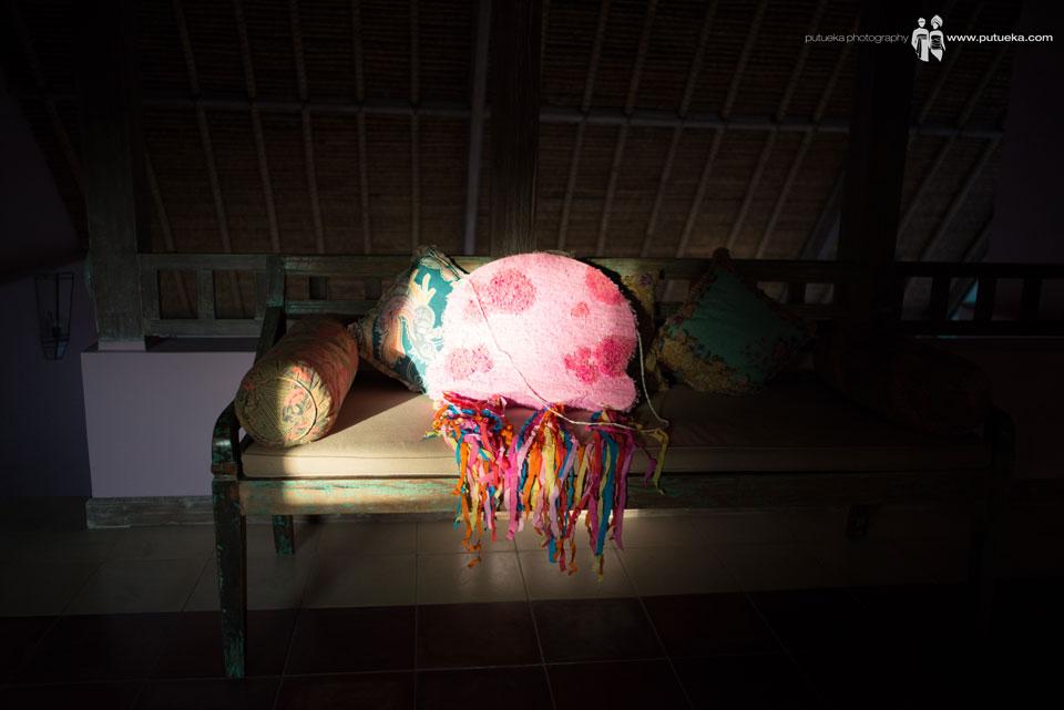 Piñata for the wedding reception