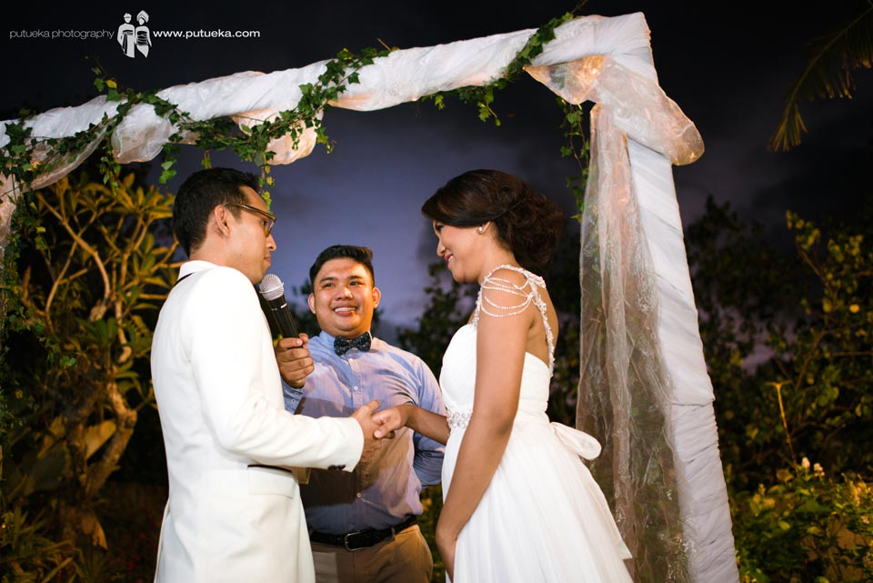 Wedding vow to unite two soul become one
