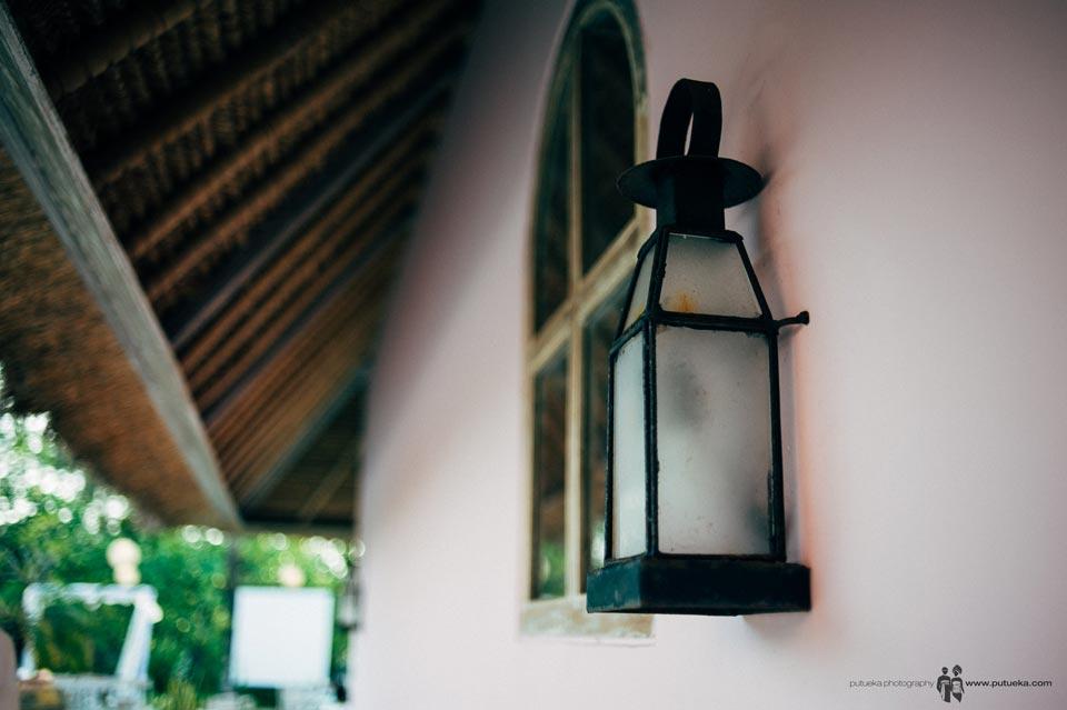 Lamp wall ornament of Hacienda villa no 5
