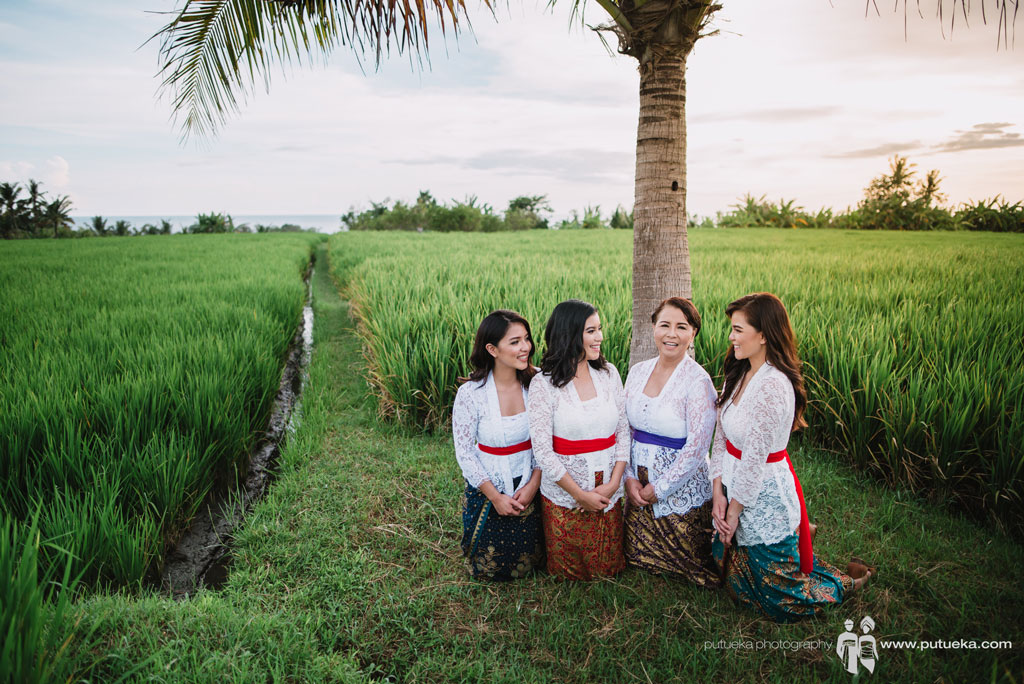 Bali sweet escape photography of Lina's family