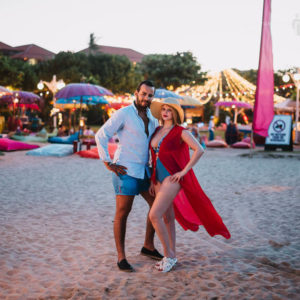 Honeymoon in Bali of Mehdi